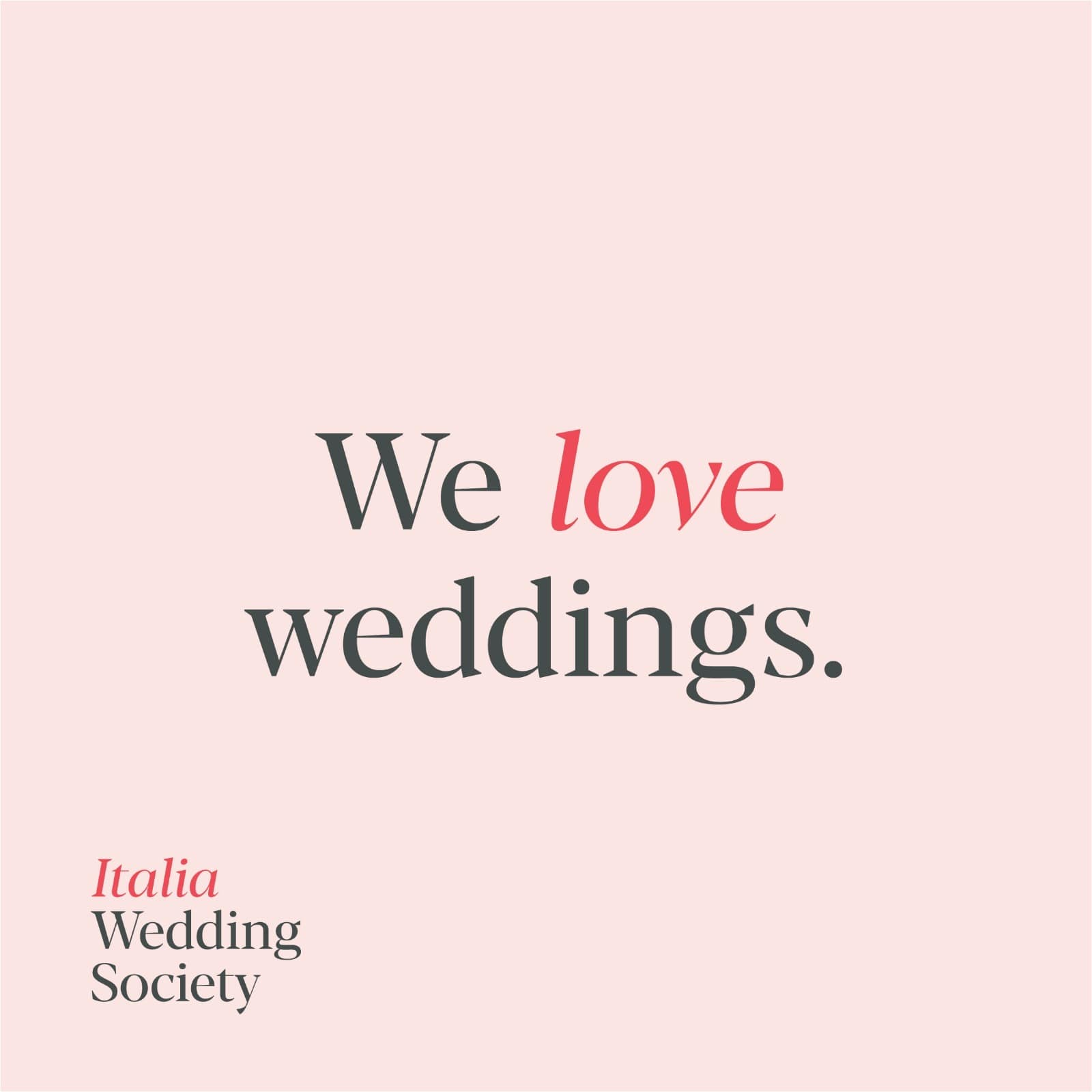 italia wedding society